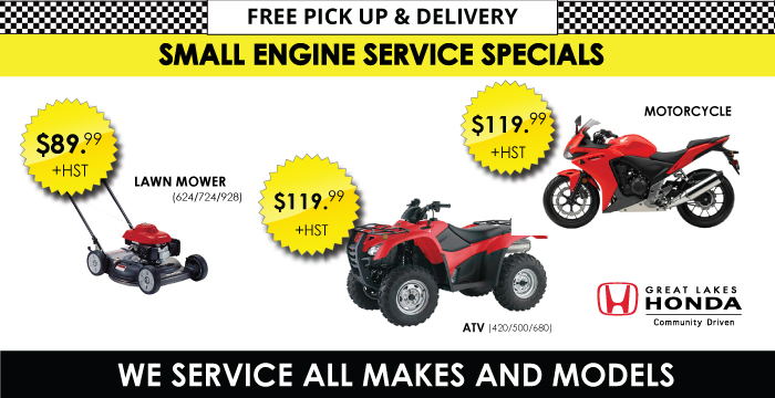 Small Engine Service Special