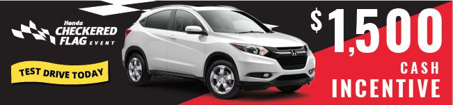 2017 Honda HR-V sale Checkered Flag