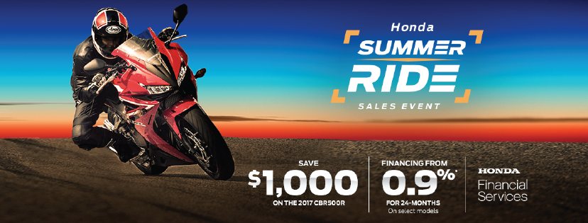 Summer Ride Motorcycle Specials