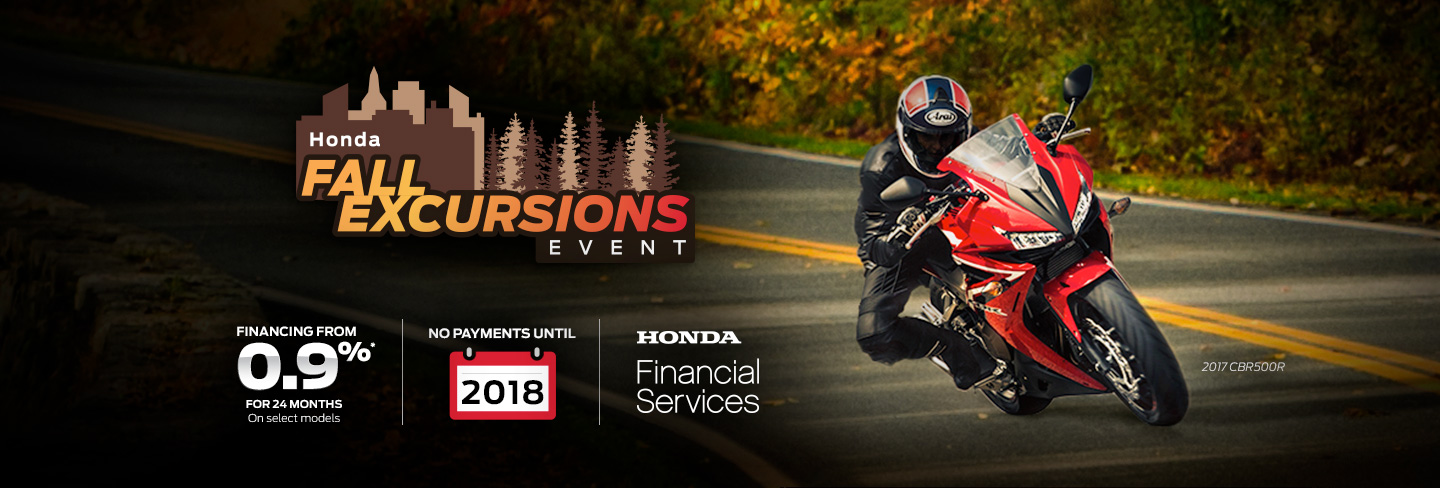Motorcyle Fall Excursion Specials