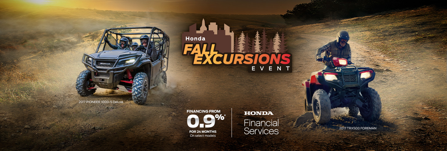 Fall Excursions ATV's