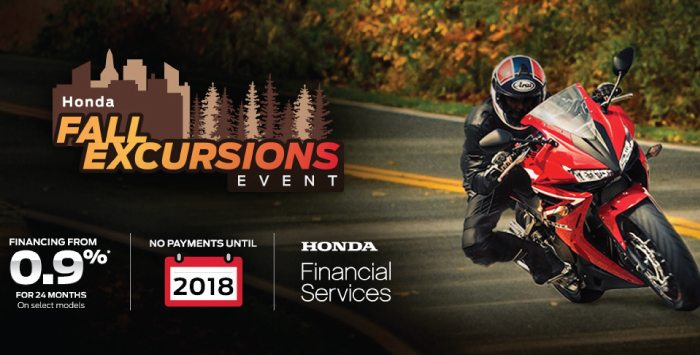 Fall Excursions Motorcycle Specials