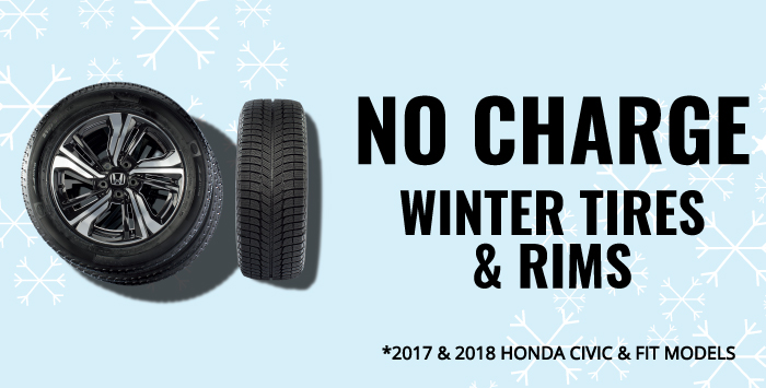 No Charge Winter Tire & Rims