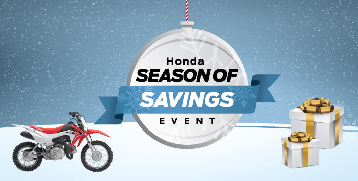Season of Savings – Motorcycle