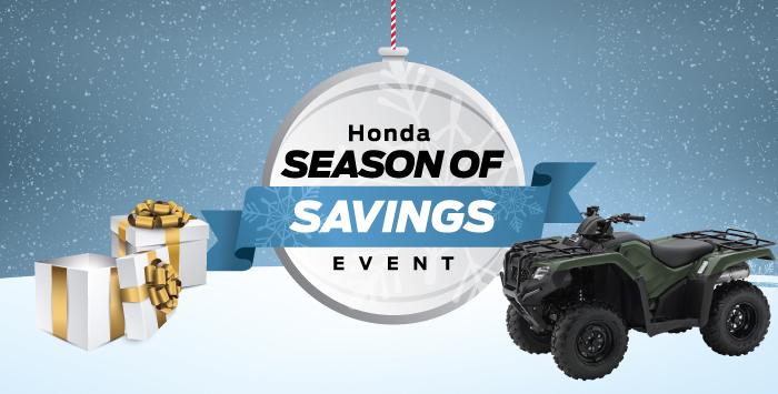 Season of Savings – ATV