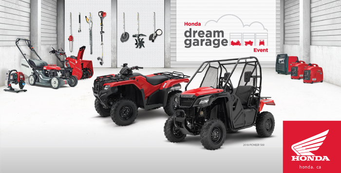 ATV Honda Dream Garage Event