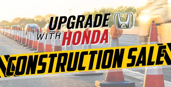 Upgrade With Honda