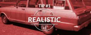 Tip1 Be Realistic