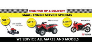Small Engine Service Specials