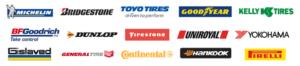 Tire company logos