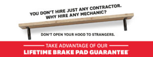 You don't hire just any contractor. Why hire any mechanic?