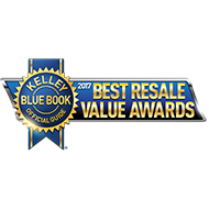 Kelley Blue Book 2017 Best Resale Value Awards