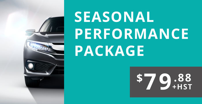 Seasonal Performance Package