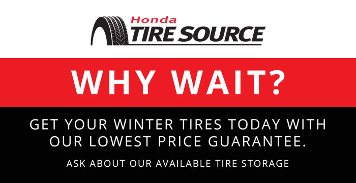 Honda Tire Source Lowest Price Guarantee