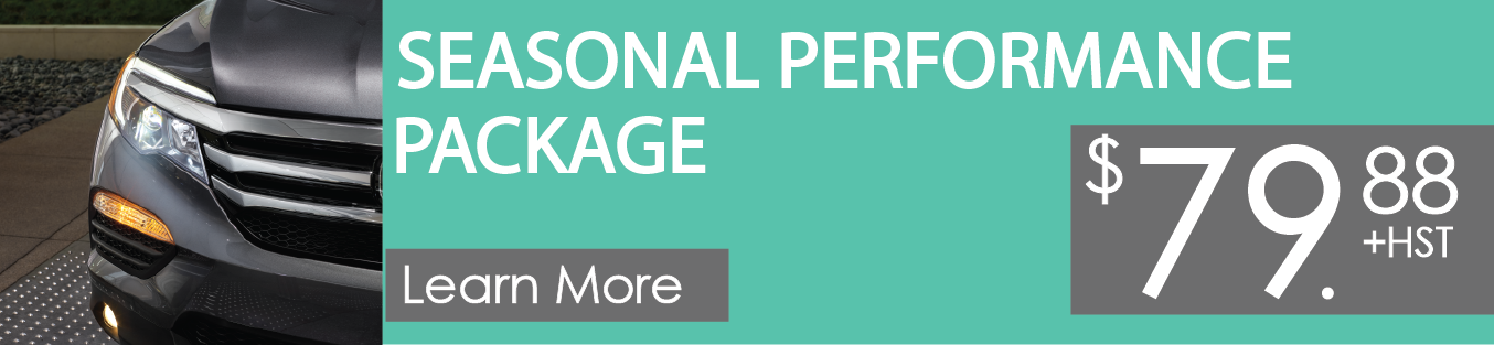 Seasonal Performance Package promo