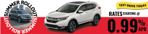 2017 Honda CRV on Sale August 2017