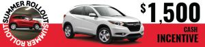 2017 Honda HRV Sale August
