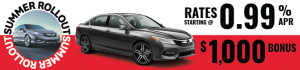 2017 Honda Accord Sale August