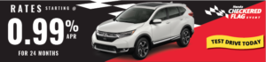 2017 CR-V Sale Checkered Flag