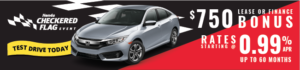 2017 Honda Civic Checkered Flag Sale
