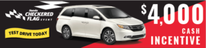 2017 Honda Odyssey Checkered Flag Event Sale