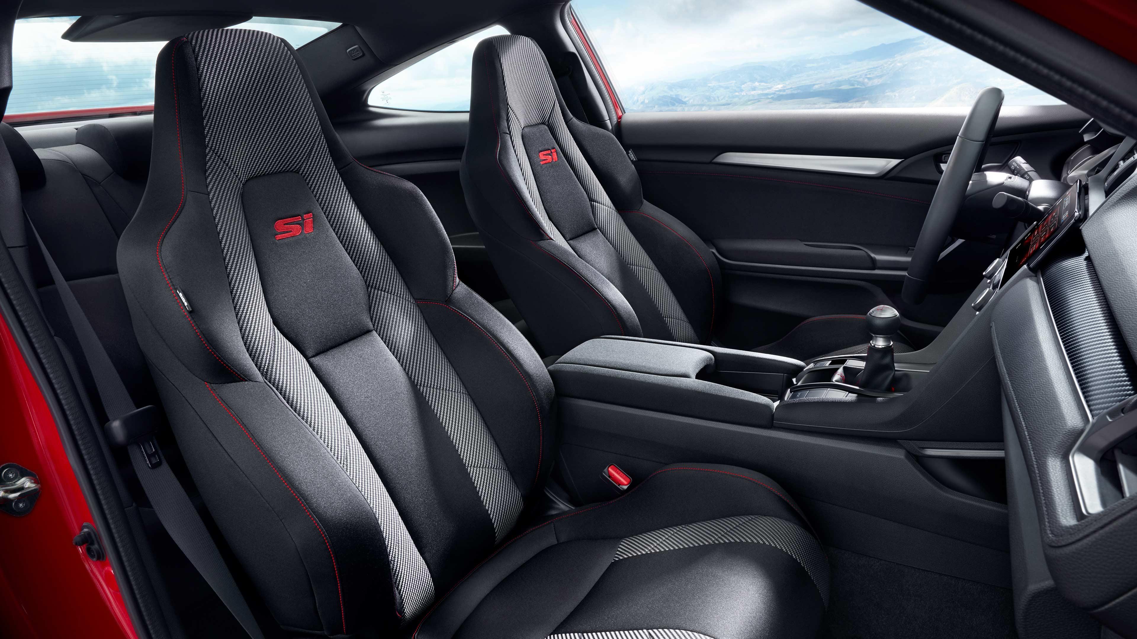 Civic Coupe Si Interior Shot