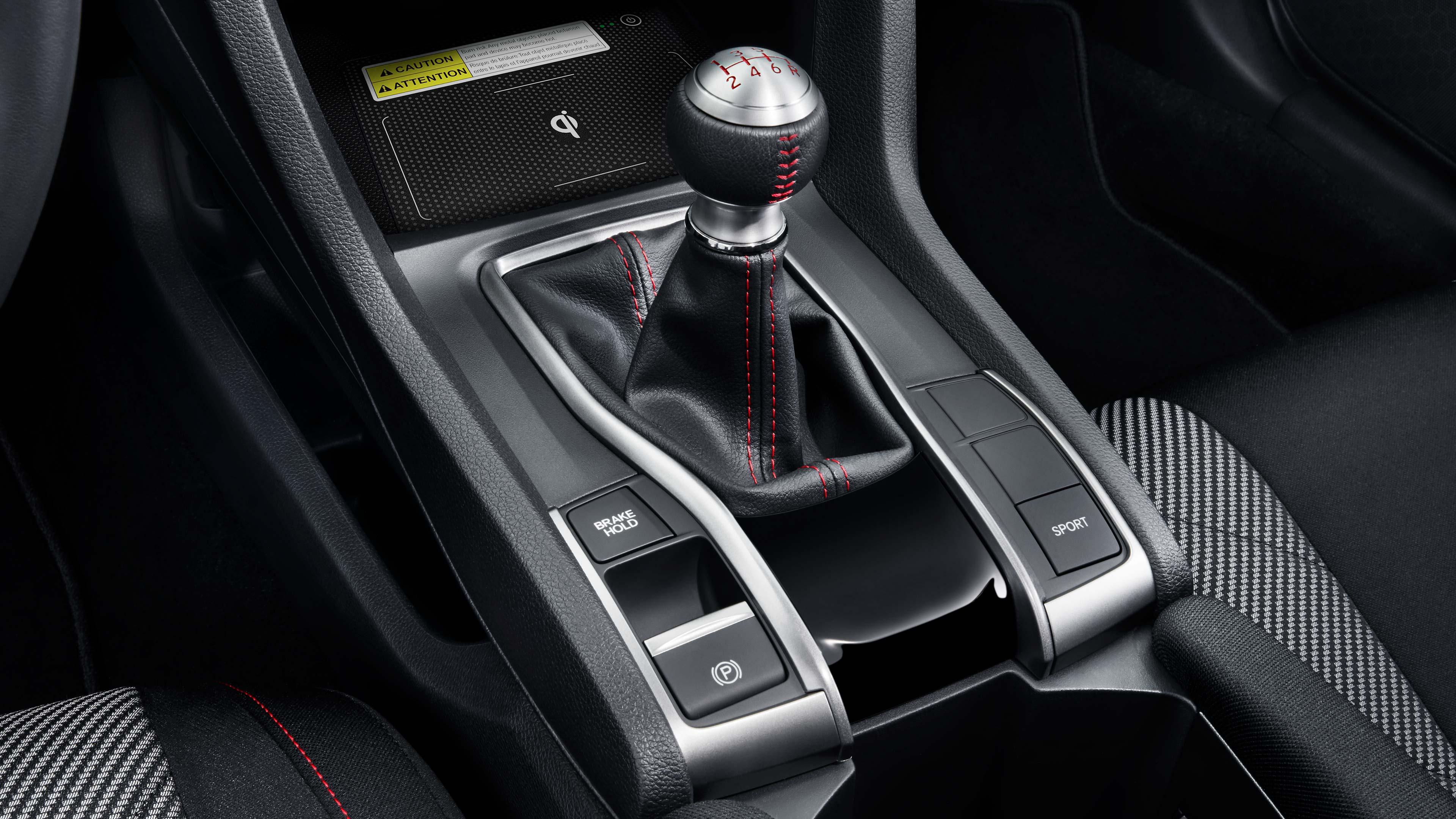 Civic Coupe Si Interior Gear Shift