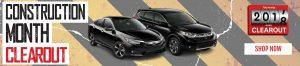 2017 Honda Model Clearout Sault Ste. Marie