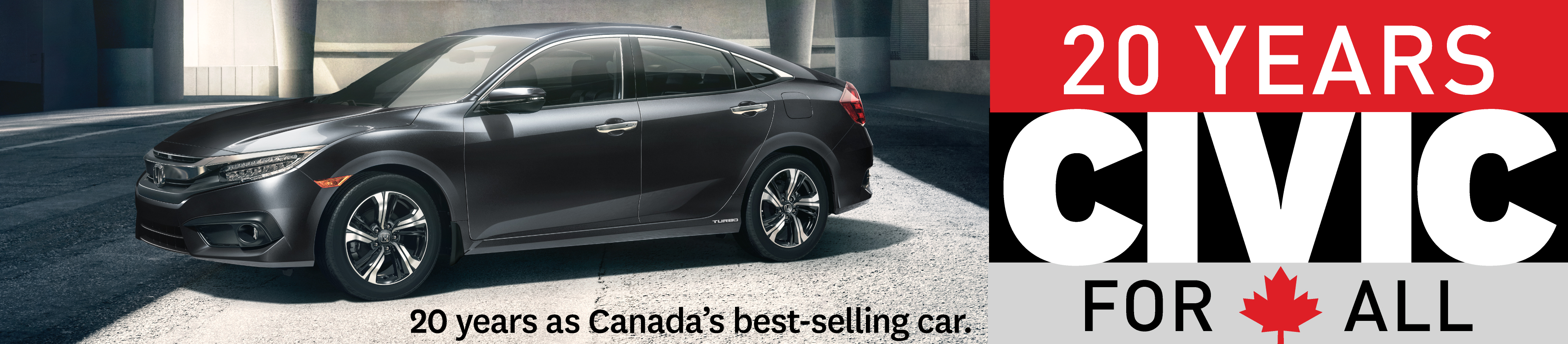 20 years best selling car in canada. the 2018 honda civic