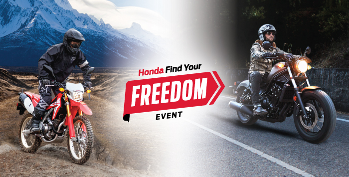 Freedom Sale – Motorcycles