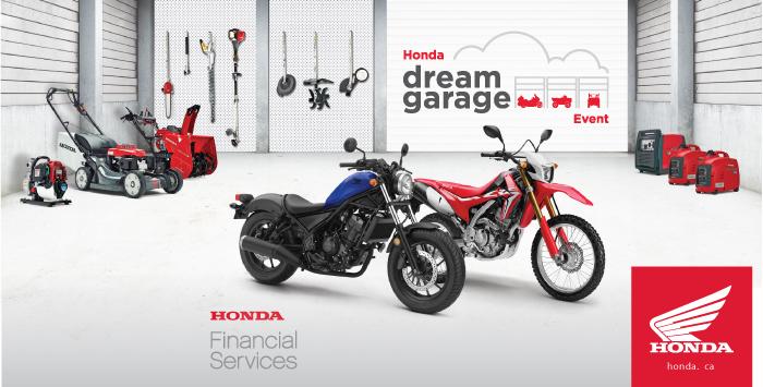Motorcycle Dream Garage Event