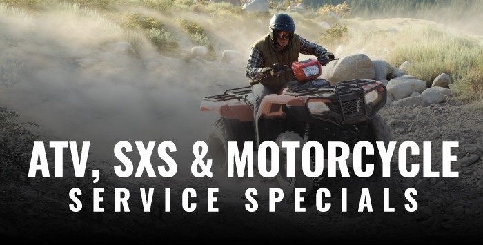 ATV, SxS & Motorcycle Service Special