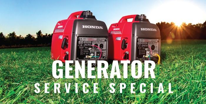Generator Service Special