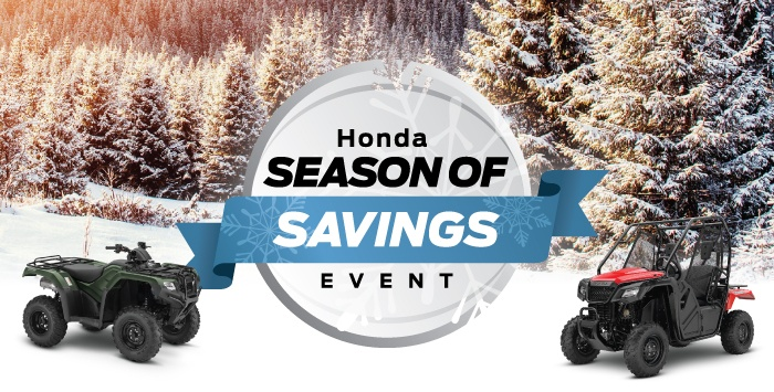 Season of Savings – ATV