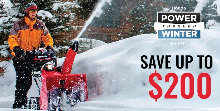 Power Through Winter – Snowblower