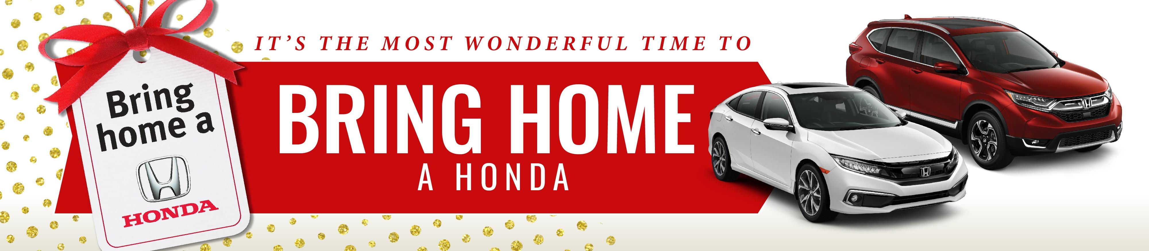November 2019 Bring Home a Honda Sale