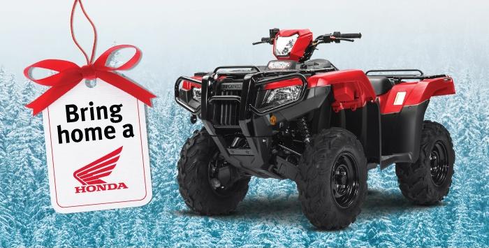 Bring Home A Honda – ATV