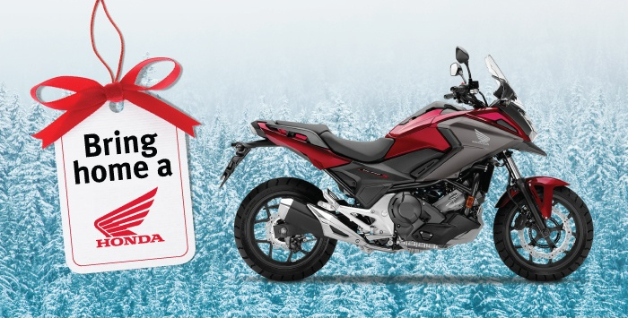 Bring Home A Honda – Motorcycle