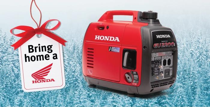 Bring Home a Honda Generator
