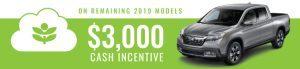 Ridgeline 2019 Feb deals
